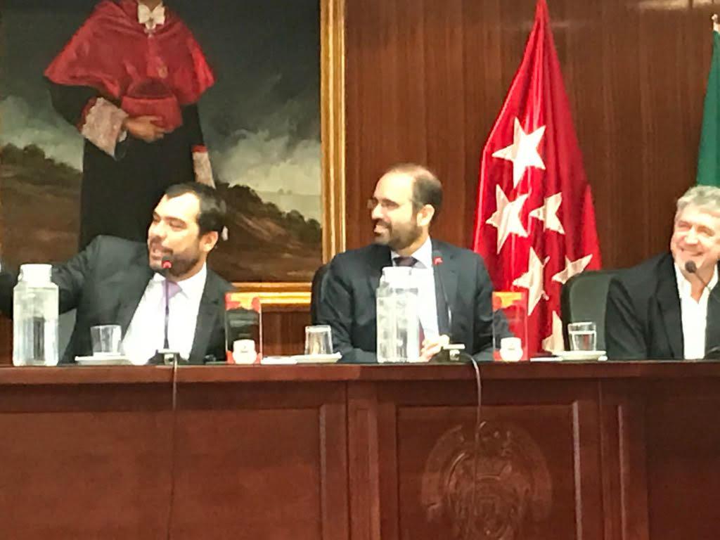 Presidente do TJD/RJ representa órgão no JuriSports Madri
