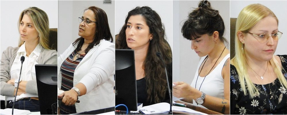 Mulheres atuantes no TJD-RJ