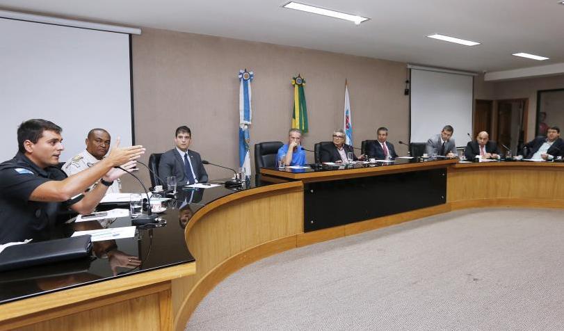 TJD-RJ participa de reunião do Plano Integrado de Segurança no Futebol