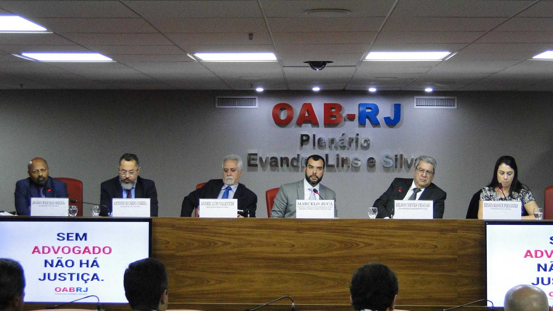 Pleno julga recursos direto da OAB-RJ