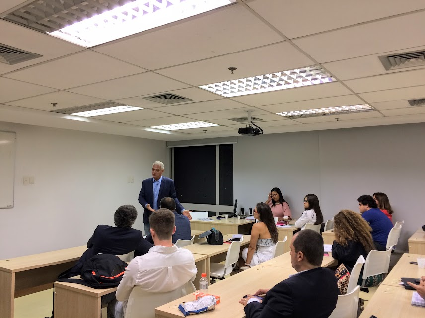 Ministro Alexandre Agra palestra no LLM Sports Law