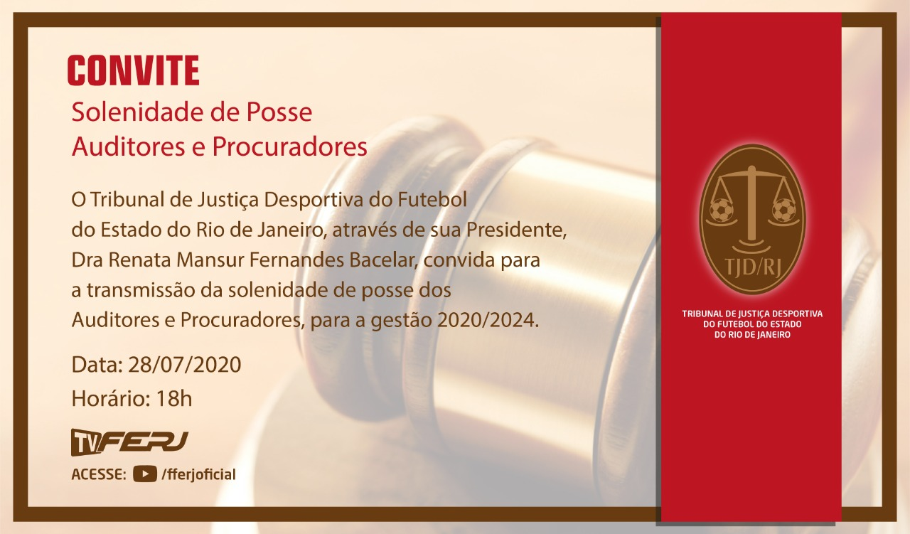 Posse dos auditores das Comissões Disciplinares e procuradores