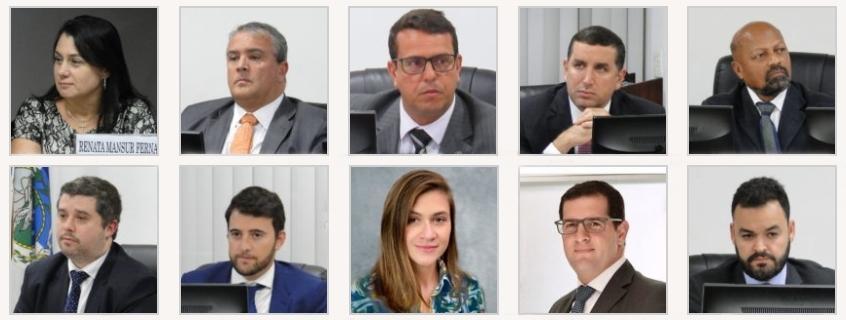 Conheça os novos auditores do Pleno