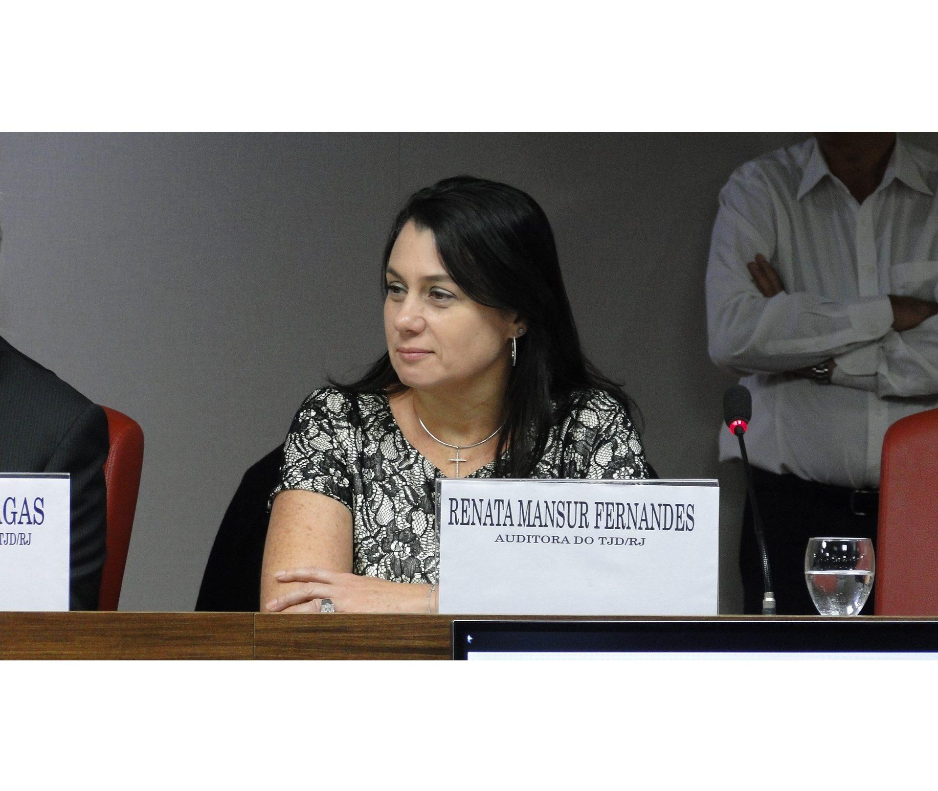 Renata Mansur é a nova presidente do TJD-RJ